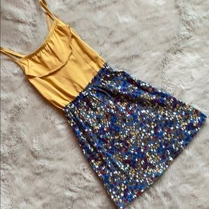 NWT Hanna Anderson Yellow and Blue Sundress